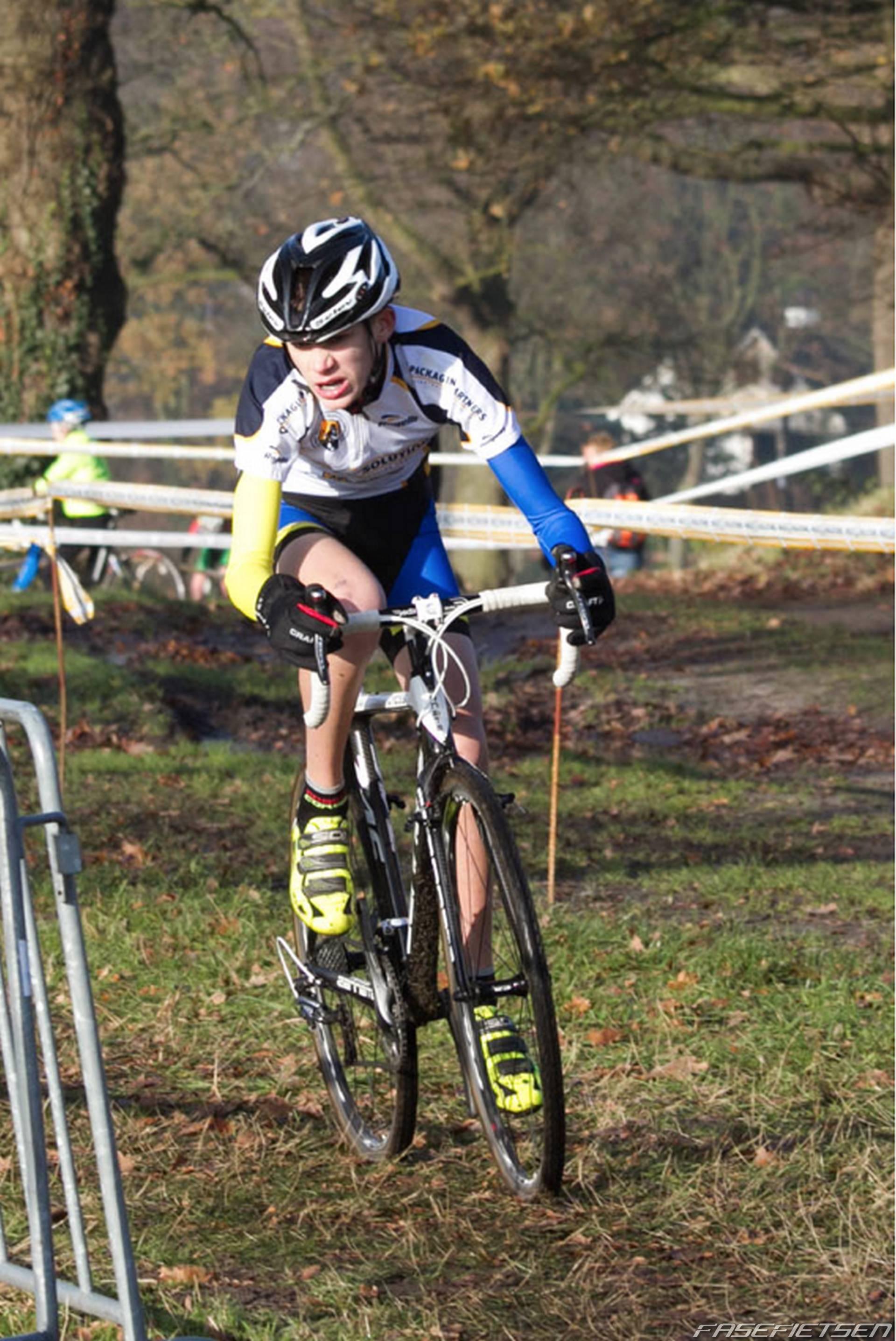 kampioen op de fiets